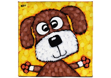 Picture of Cool Art ''eddie'' Small Tablet Cognac Honey