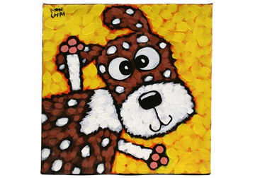 Picture of Cool Art ''rocket'' Small Tablet Cognac Honey