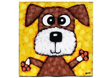 Picture of Cool Art ''teddy'' Small Tablet Cognac Honey