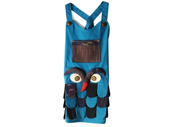 Picture of Ragworks Little Chef Owl Junior Apron Sky Blue