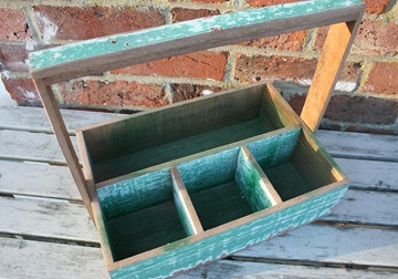 Picture of Rustic Beach Handmade Reclaimed Large Crates Antique Pastel