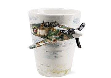 Picture of Spitfire Handmade 8oz Coffee Mug Army Green
